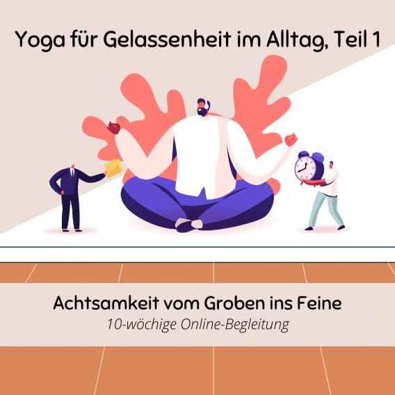 Yoga für Gelassenheit im Alltag